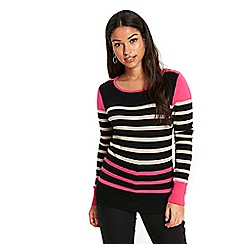 Wallis - Pink stripe jumper