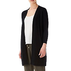 Wallis - Black long line cardigan