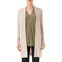 Wallis - Stone long line cardigan