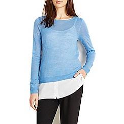 Wallis - Blue 2in1 jumper