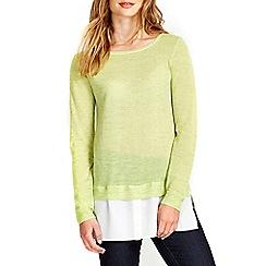Wallis - Lime 2in1 jumper
