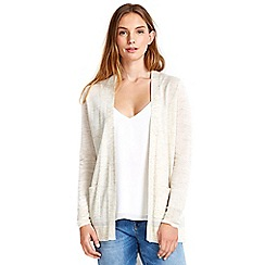 Wallis - Stone tie back cardigan