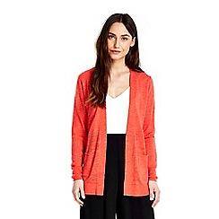 Wallis - Red tie back cardigan