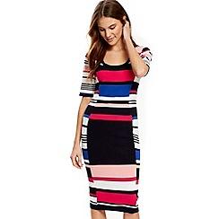 Wallis - Multi stripe dress