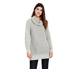 Wallis - Grey cowl neck jumper