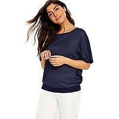Wallis - Pink angel sleeves top