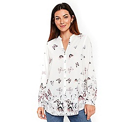 Wallis - Scattered butterfly shirt top