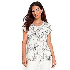 Wallis - Asian lily shell top