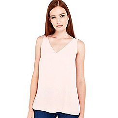 Wallis - Plain blush camisole