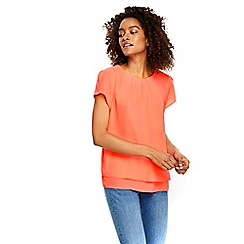 Wallis - Coral double layer top