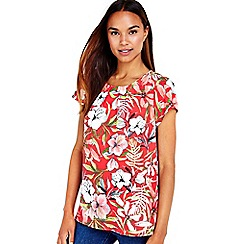 Wallis - Pink floral shell top