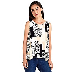 Wallis - Animal shell top