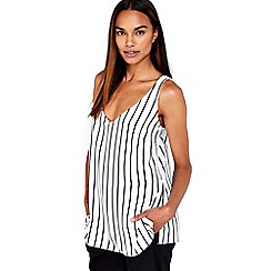 Wallis - Navy stripe camisole