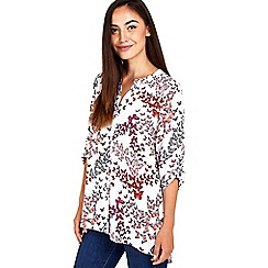 Wallis - Butterfly print shirt