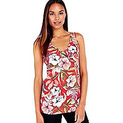 Wallis - Pink floral printed camisole