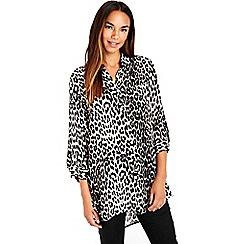 Wallis - Leopard print shirt