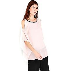 Wallis - Blush embellished overlay