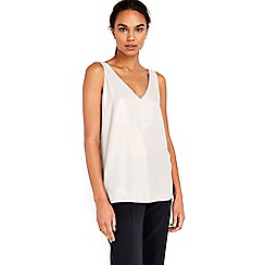 Wallis - Mink metallic camicole top