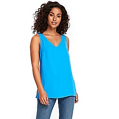 Wallis - Electric blue v neck camisole top