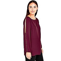 Wallis - Berry studded top
