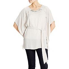 Wallis - Bar neck kimono top