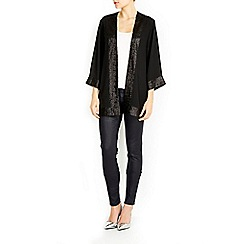 Wallis - Sequin edge jacket