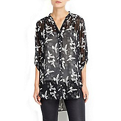 Wallis - Monochrome printed shirt