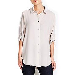 Wallis - Mink kimono sleeve shirt