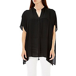 Wallis - Black kimono shirt