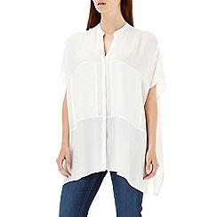 Wallis - Cream kimono shirt