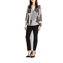 Wallis - Monochrome printed blouse