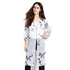 Wallis - Grey floral print shirt