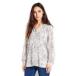 Wallis - Paisley print shirt
