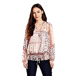 Wallis - Paisley patchwork blouse