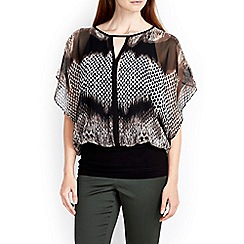 Wallis - Animal jersey band top