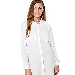 Wallis - Ivory shirt