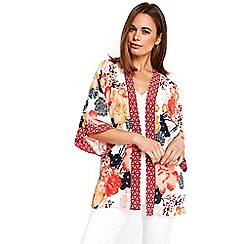 Wallis - Cream floral blossom jacket