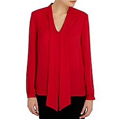 Wallis - Red pussybow blouse