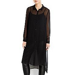 Wallis - Extreme longline shirt