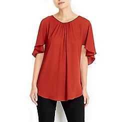 Wallis - Cape sleeve top