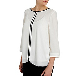 Wallis - Monochrome colour block blouse