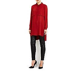 Wallis - Rust pocket shirt