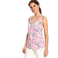 Wallis - Pink lily camisole top