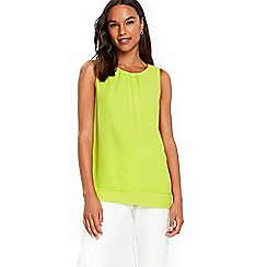 Wallis - Lime sleeveless top