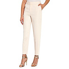 Wallis - Blush luxe slim trousers