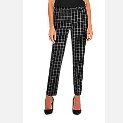 Wallis - Monochrome checked trousers