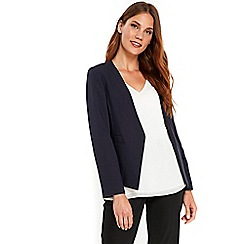 Wallis - Navy smart jacket