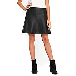 Wallis - Black fitted skirt