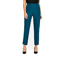 Wallis - Aqua side zip trousers