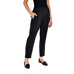 Wallis - Black pull on trousers